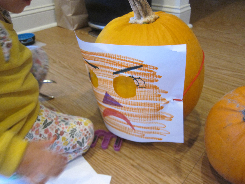 Pumpkin Halloween Masks (4)