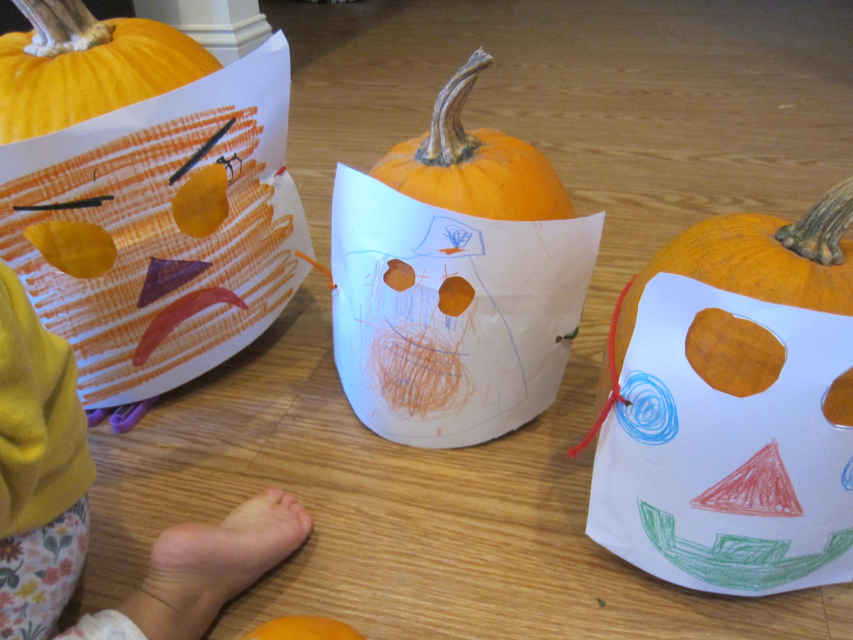 Pumpkin Halloween Masks (6)