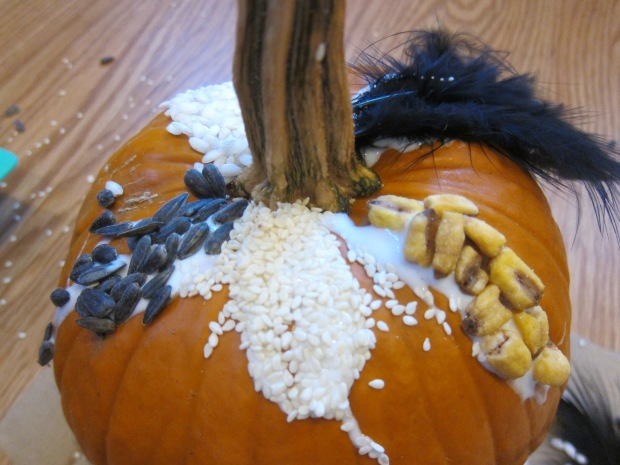 Sensory Pumpkin Decorating (8)