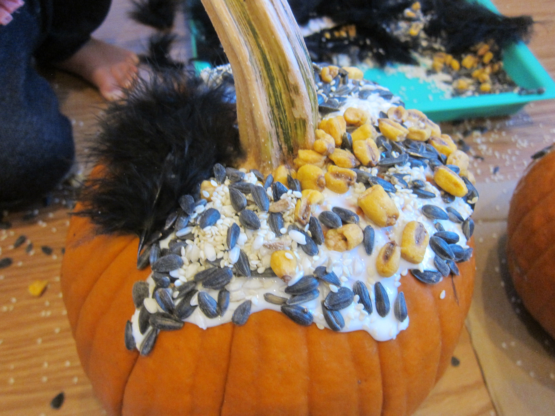 Sensory Pumpkin Decorating (9)
