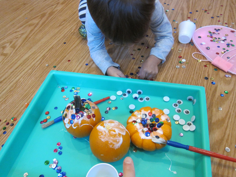 Sparkly Googly Pumpkins (3)