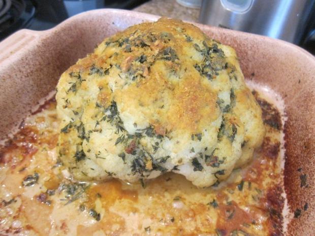 Whole Roast Cauliflower (5)