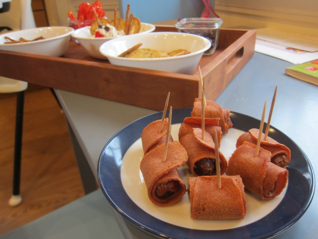 Bacon-Wrapped Dates (5)
