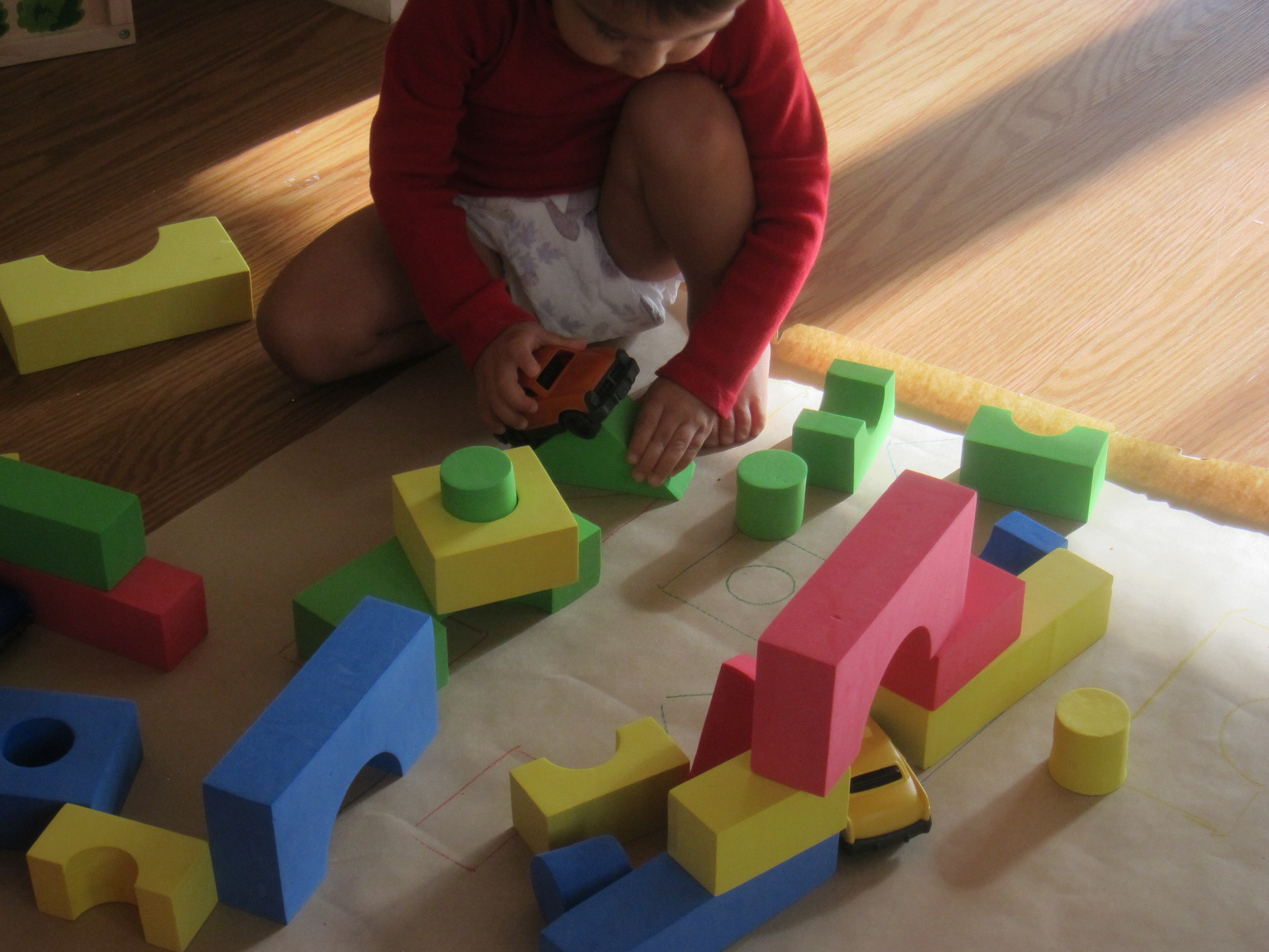 Block Learning Shape and Color (15)