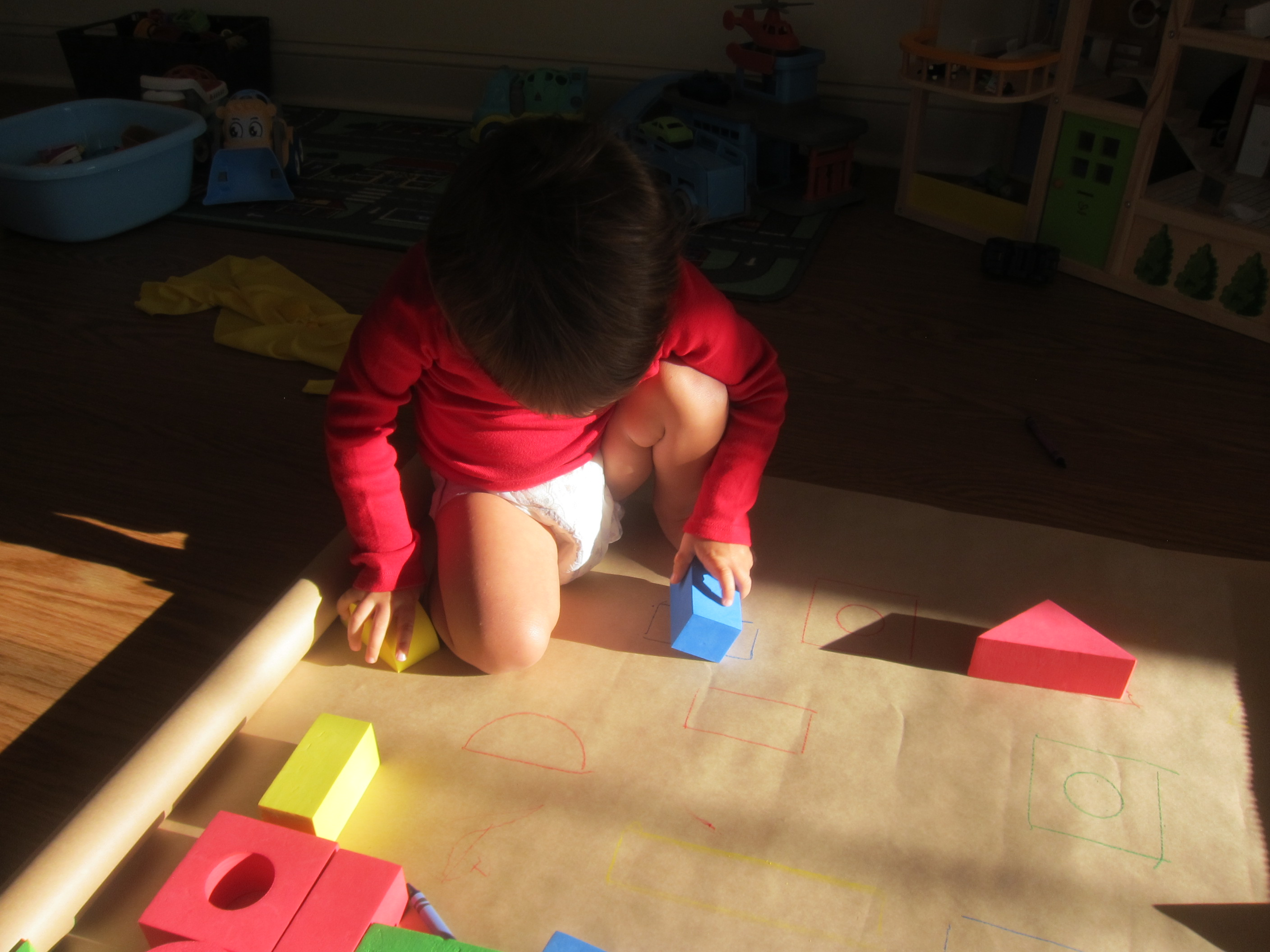 Block Learning Shape and Color (5)