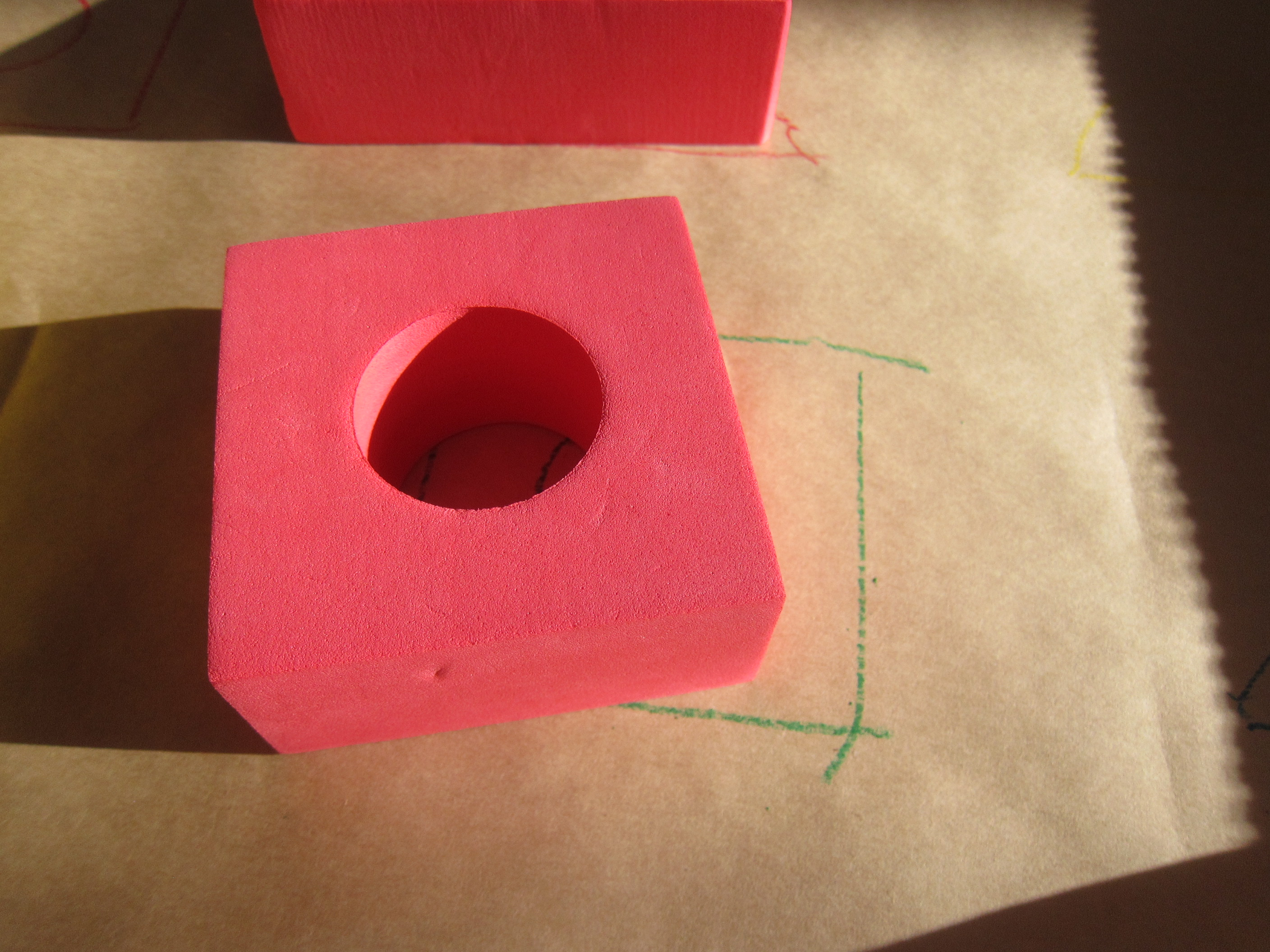 Block Learning Shape and Color (6)