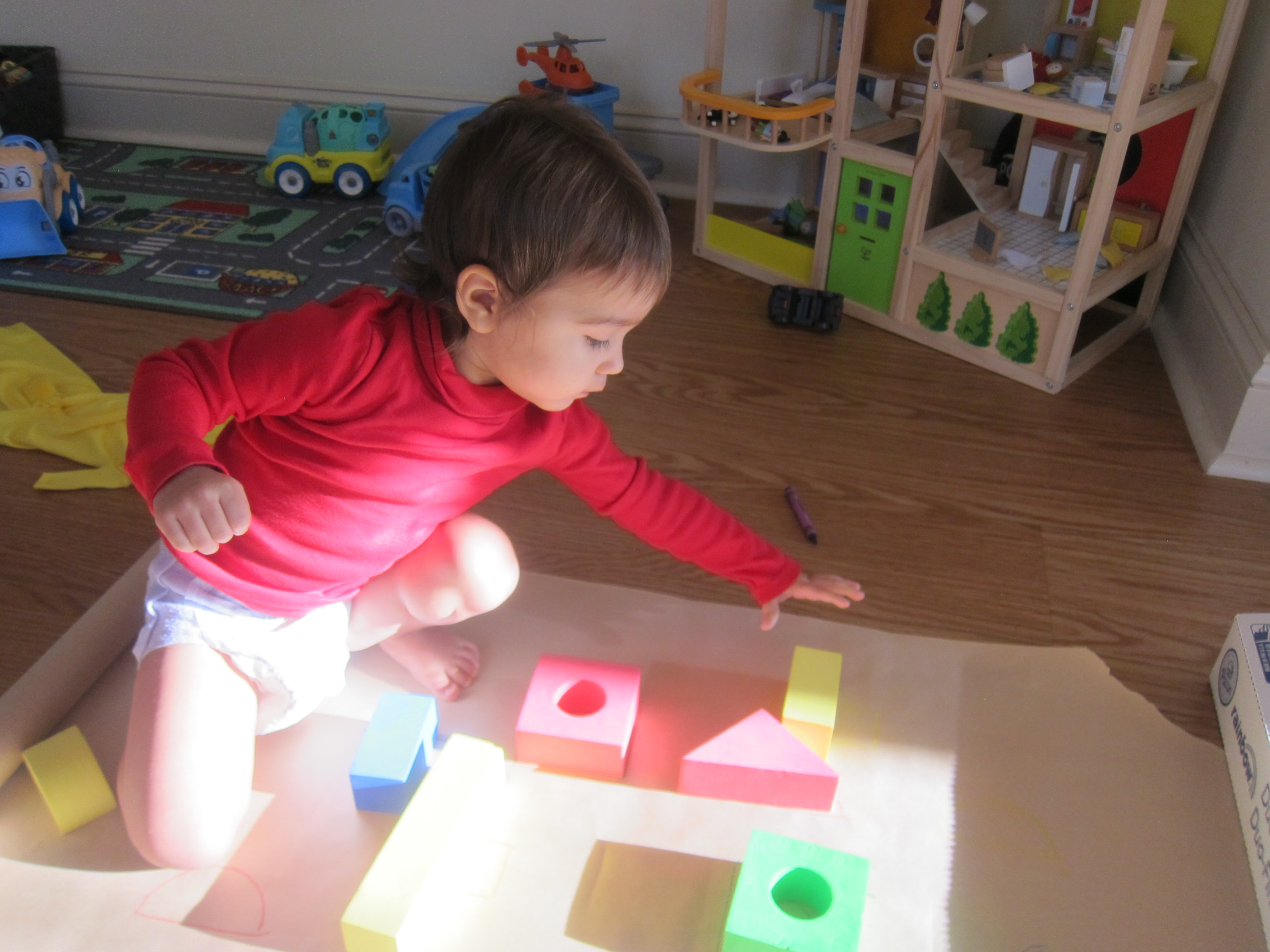 Block Learning Shape and Color (7)