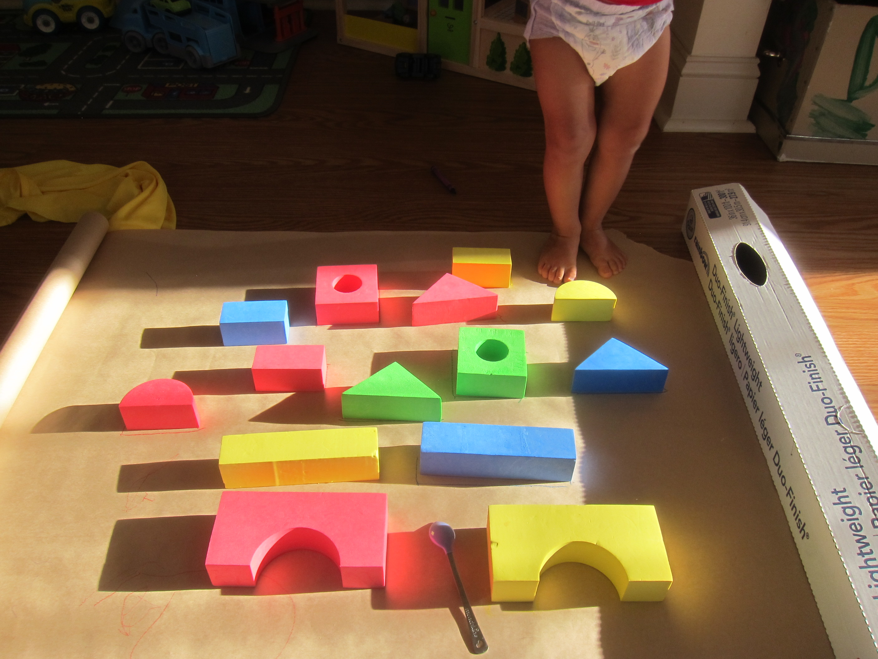 Block Learning Shape and Color (8)