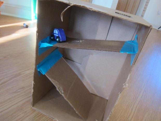 Cardboard Box Ramps (8)