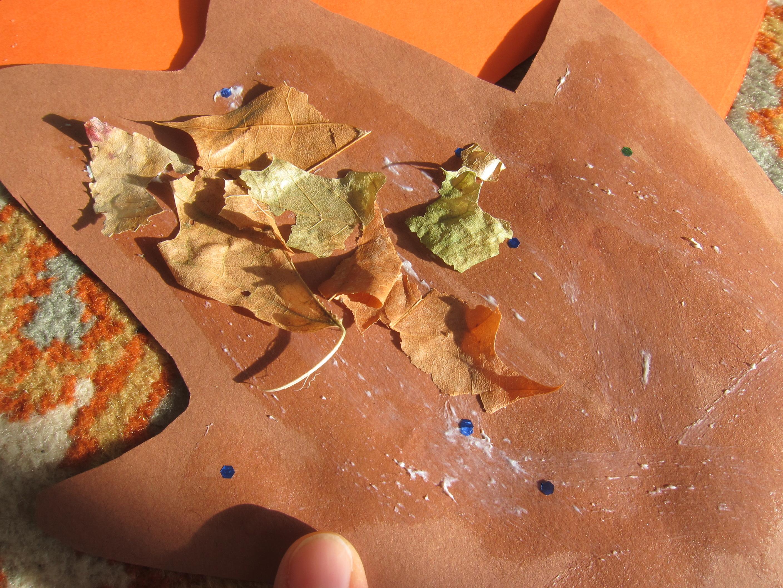 Dry Leaf Collage (6)