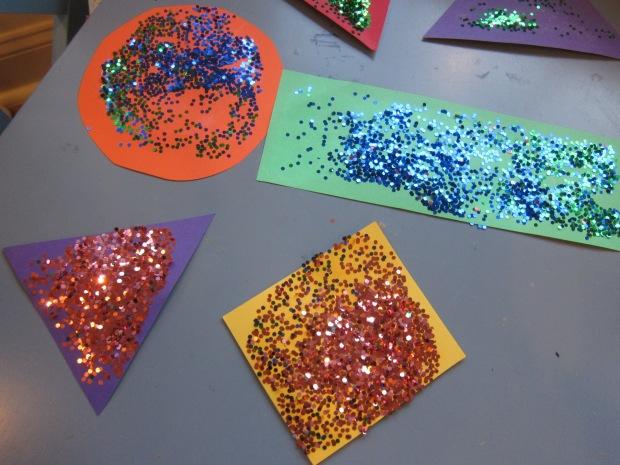 Glitter Shapes (6)