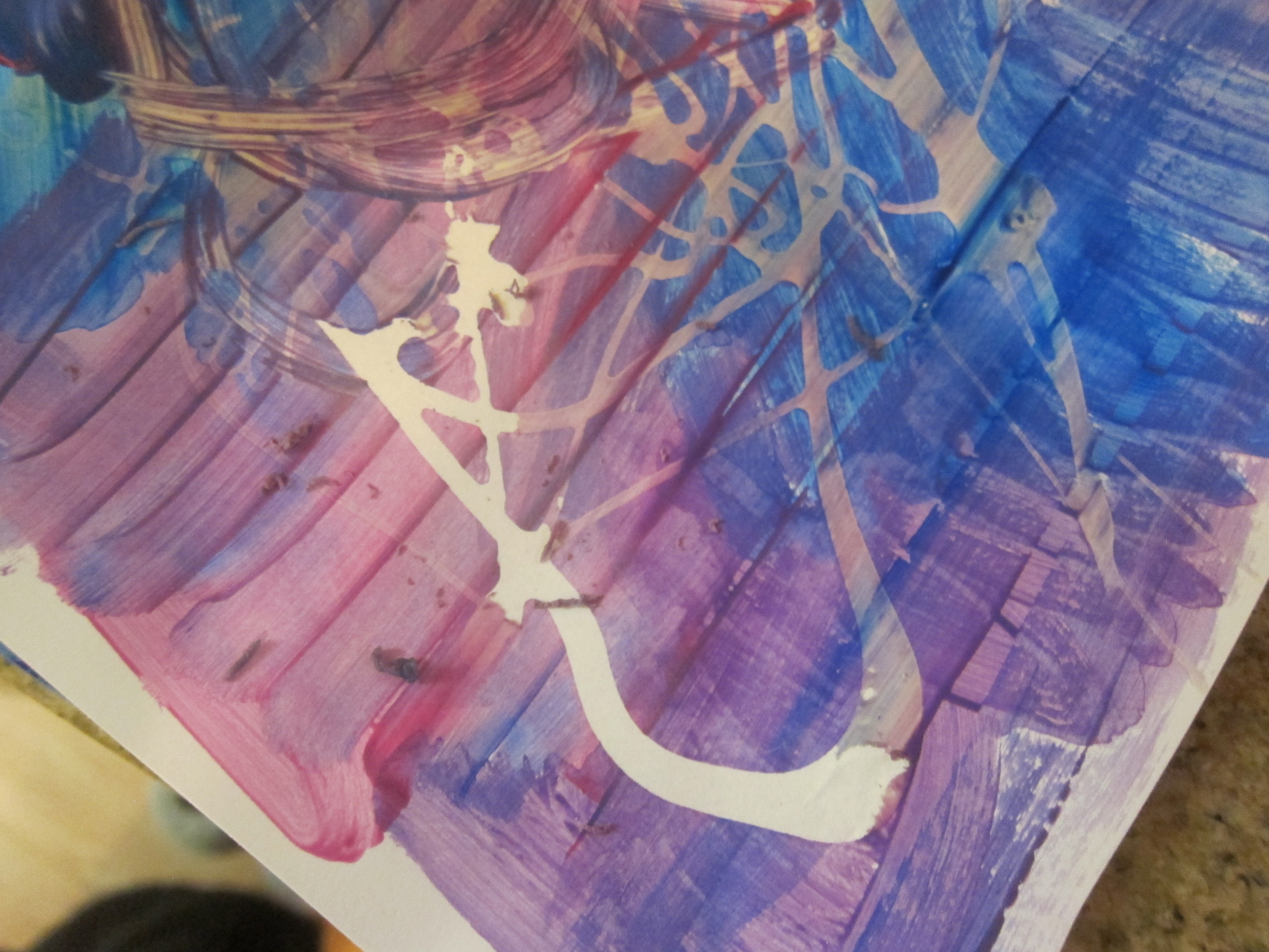Painted Place Mat (1)