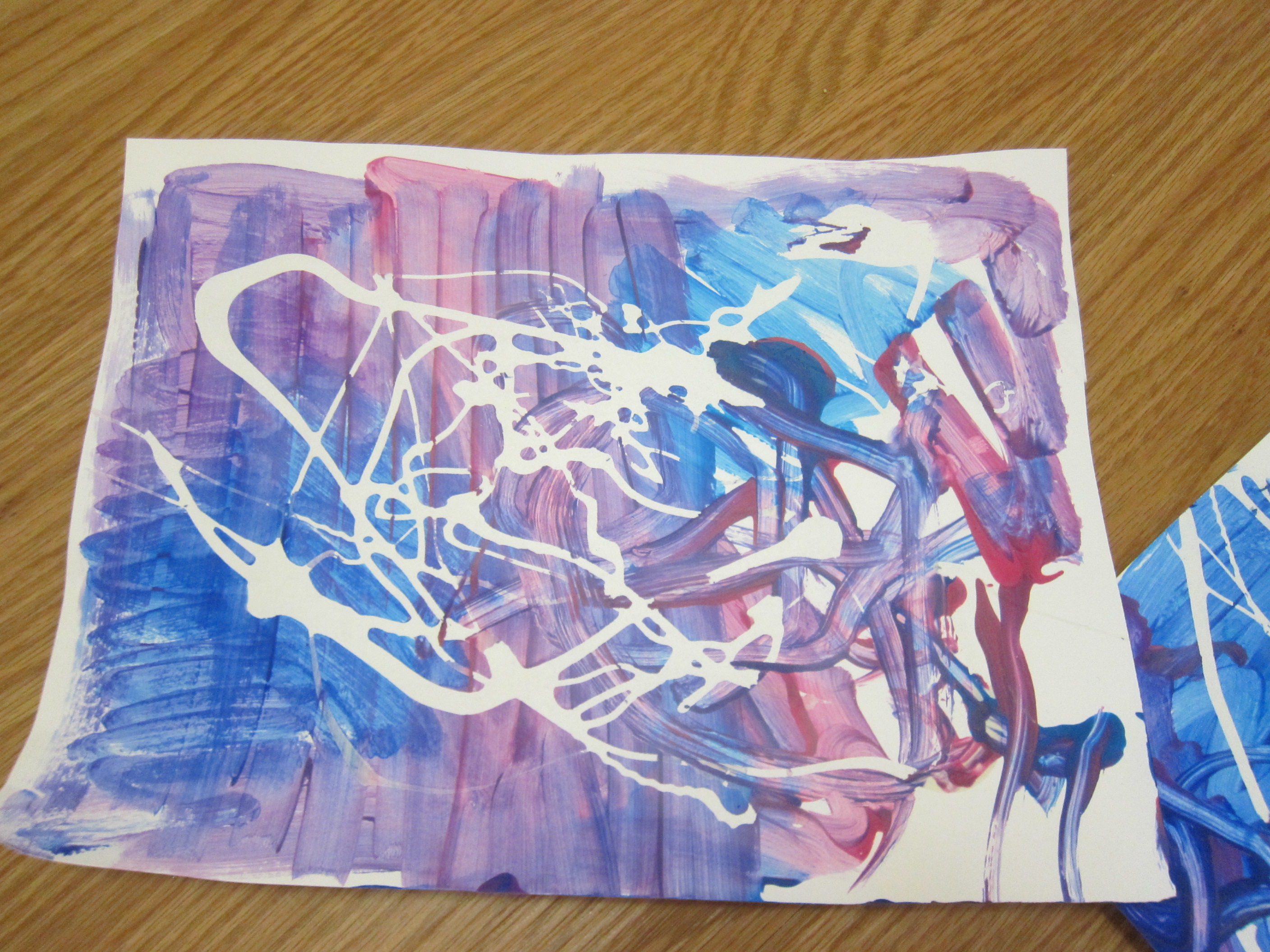 Painted Place Mat (2)