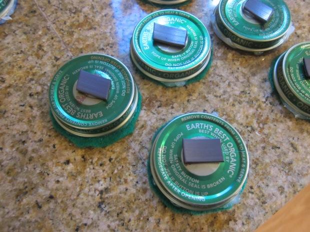 Christmas Tree Magnets (3)