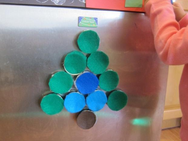 Christmas Tree Magnets (4)
