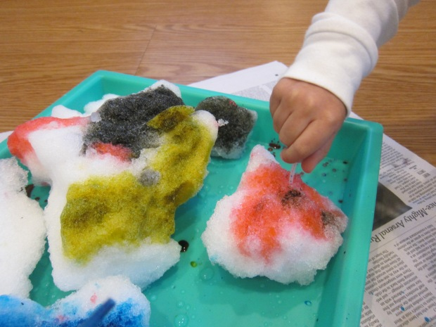 Coloring Snow with Droppers (5)