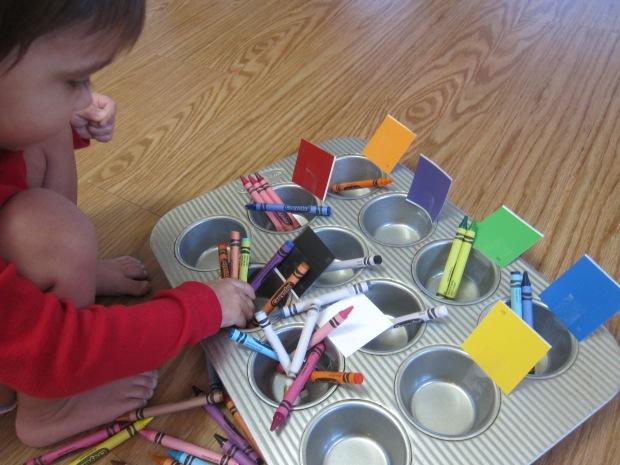 Crayon Color Sorting (5)