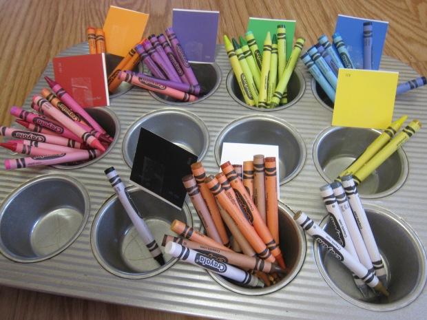 Crayon Color Sorting (6)