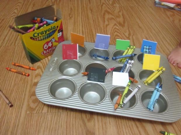 Crayon Color Sorting (8)