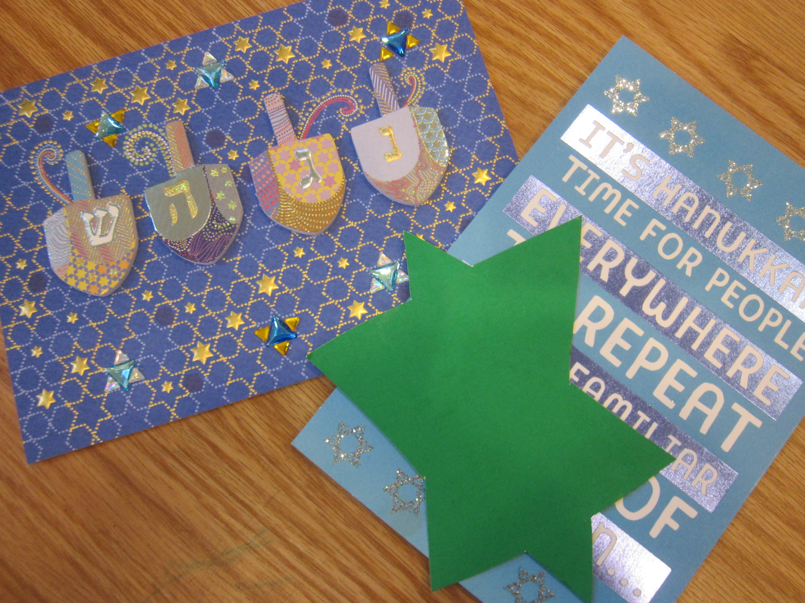 Hanukkah Rubbings (1)