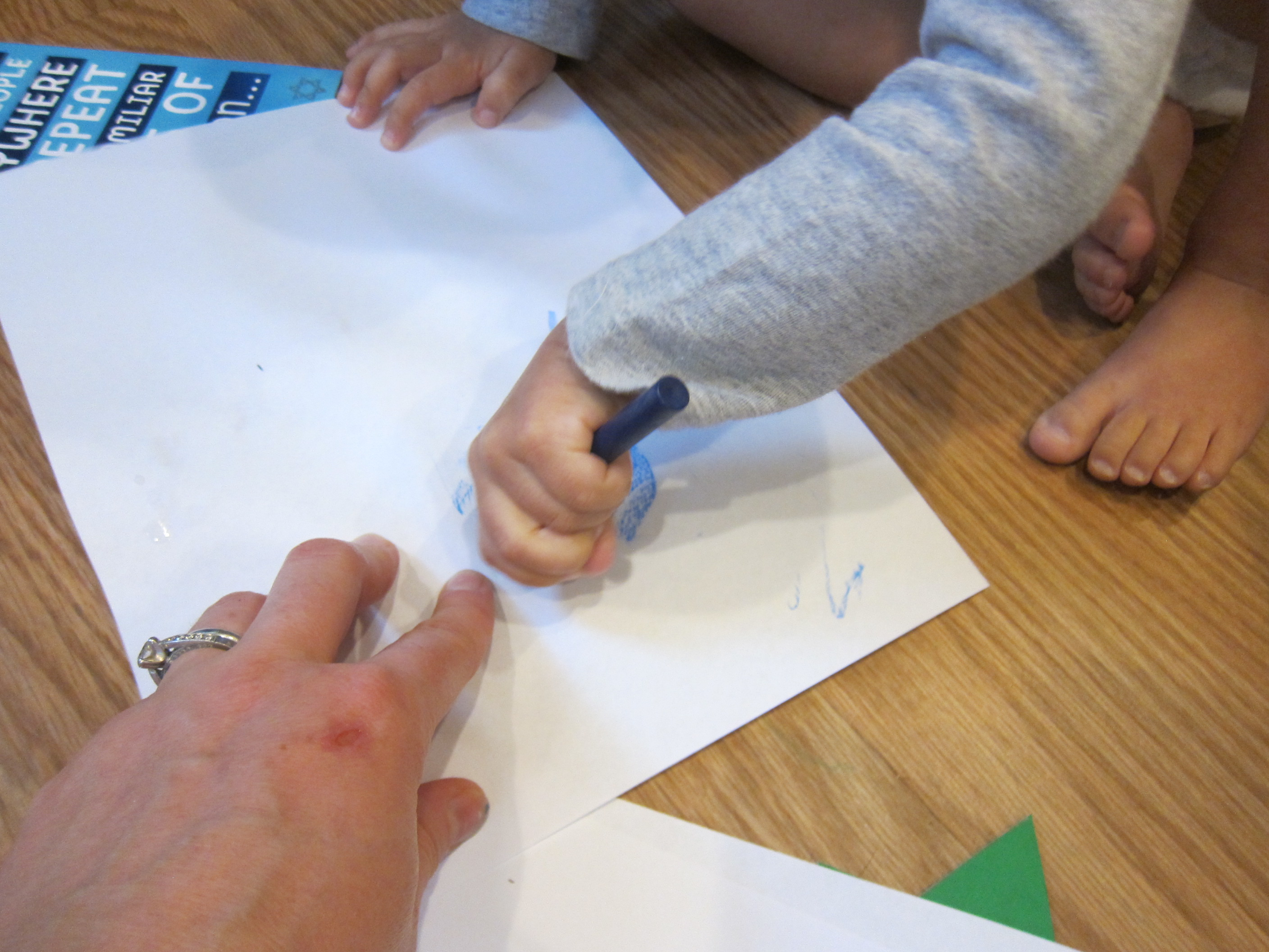 Hanukkah Rubbings (2)