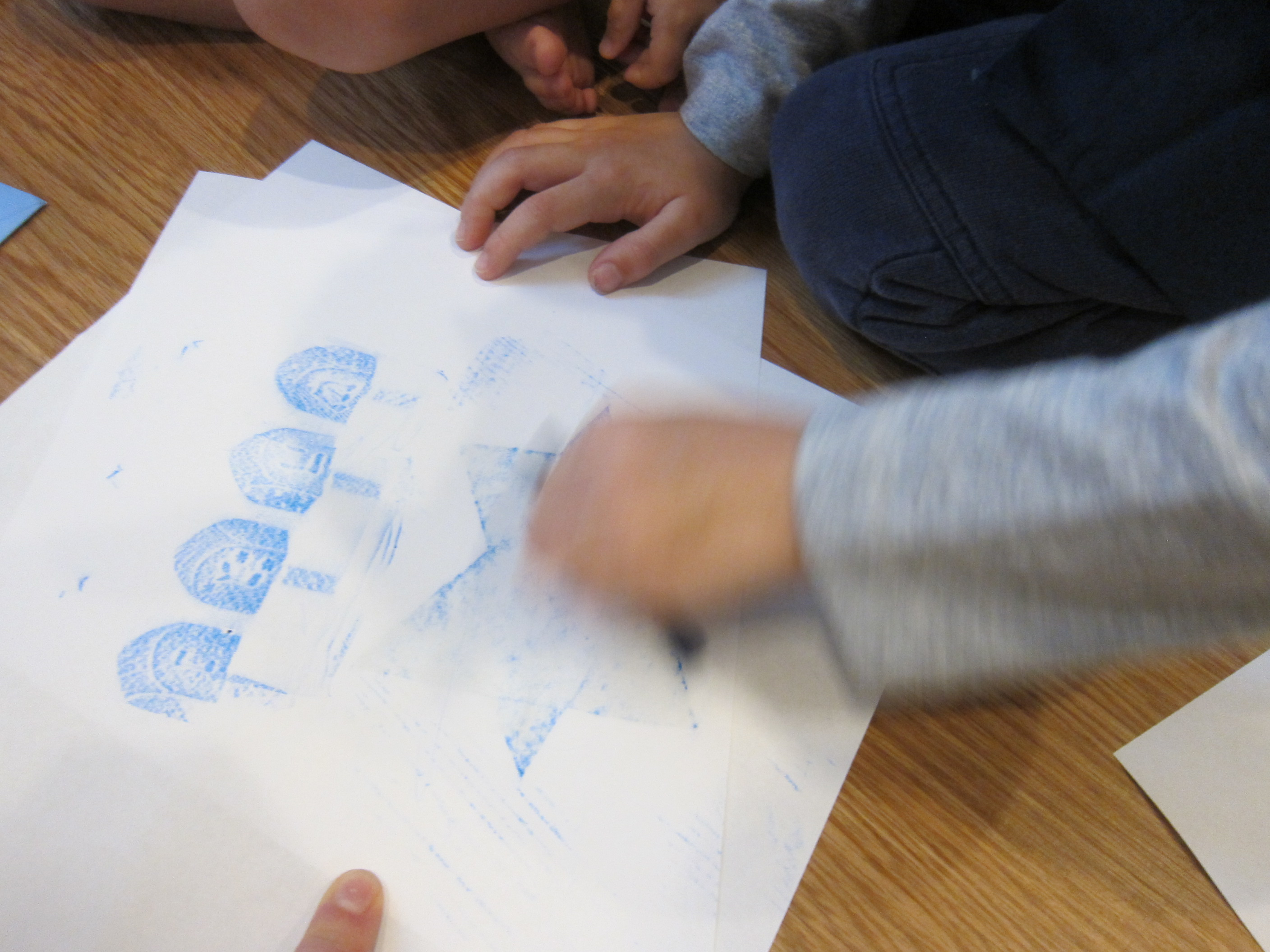 Hanukkah Rubbings (3)