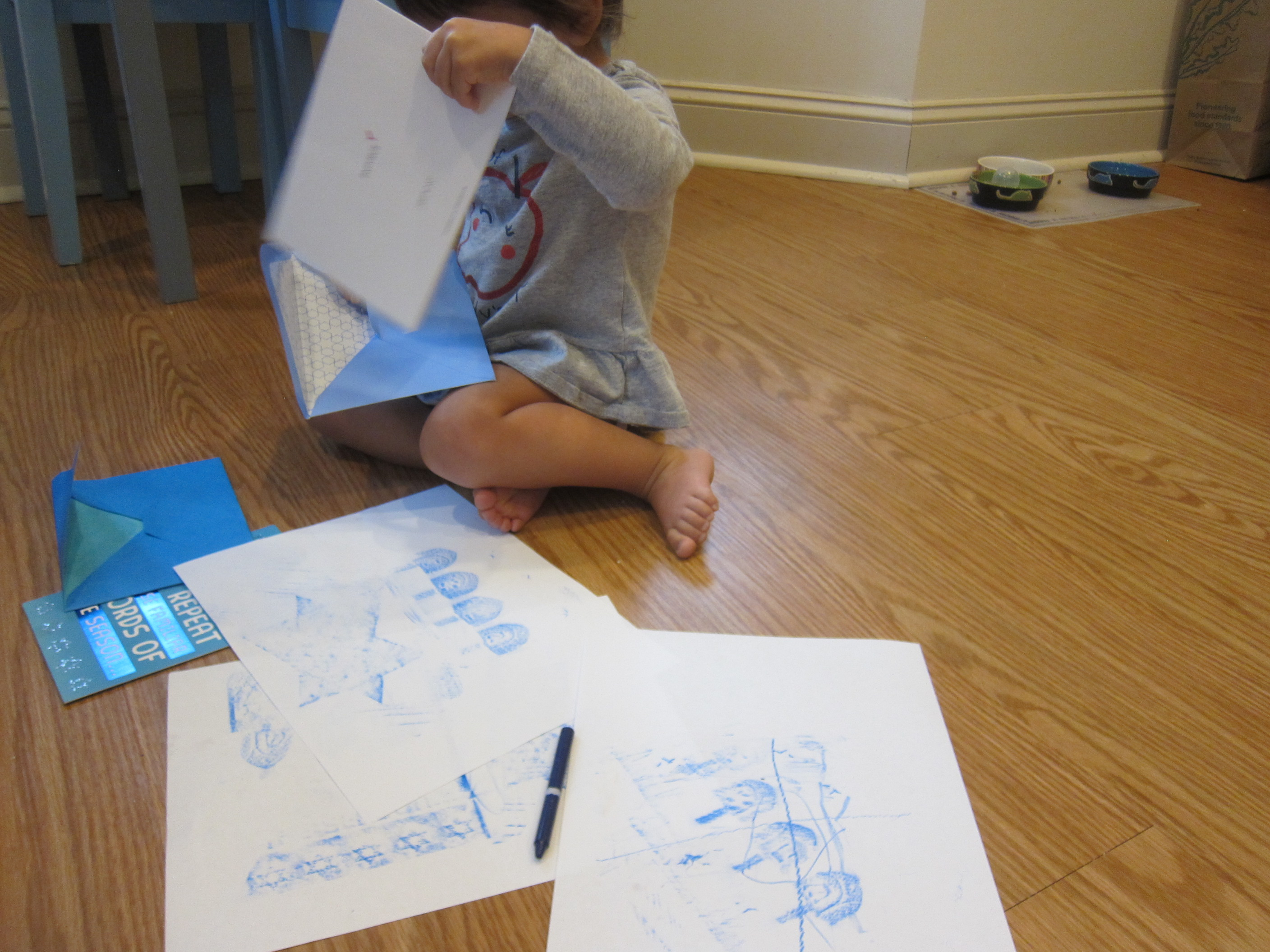 Hanukkah Rubbings (5)