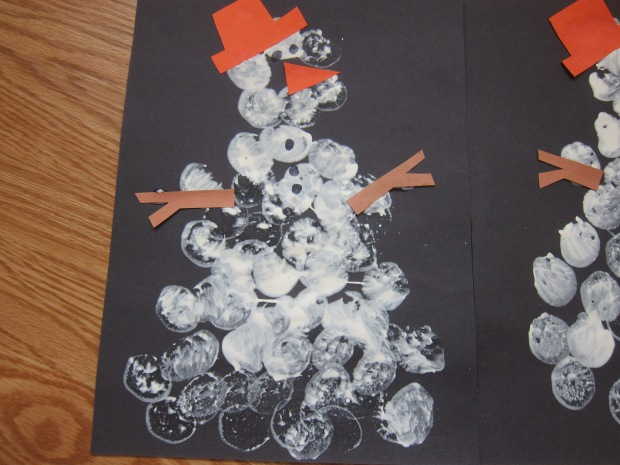Marshmallow Snowman Stampers (7)