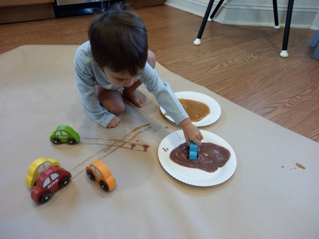 Painting with Baby Food (2)