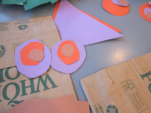 Paper Bag Owl Puppets (1)