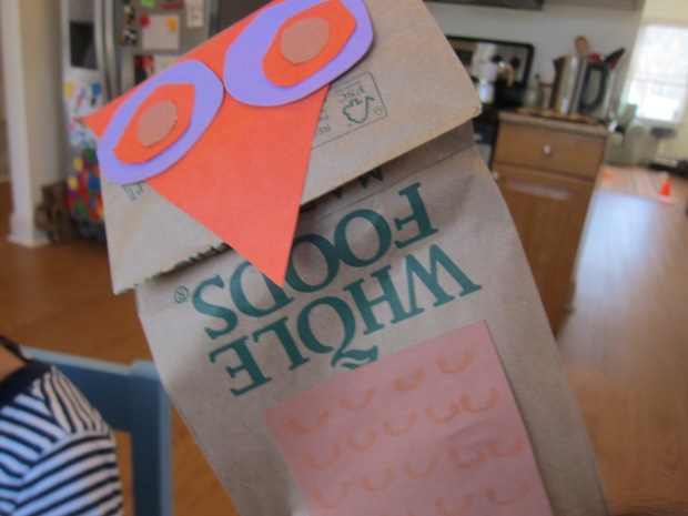 Paper Bag Owl Puppets (7)