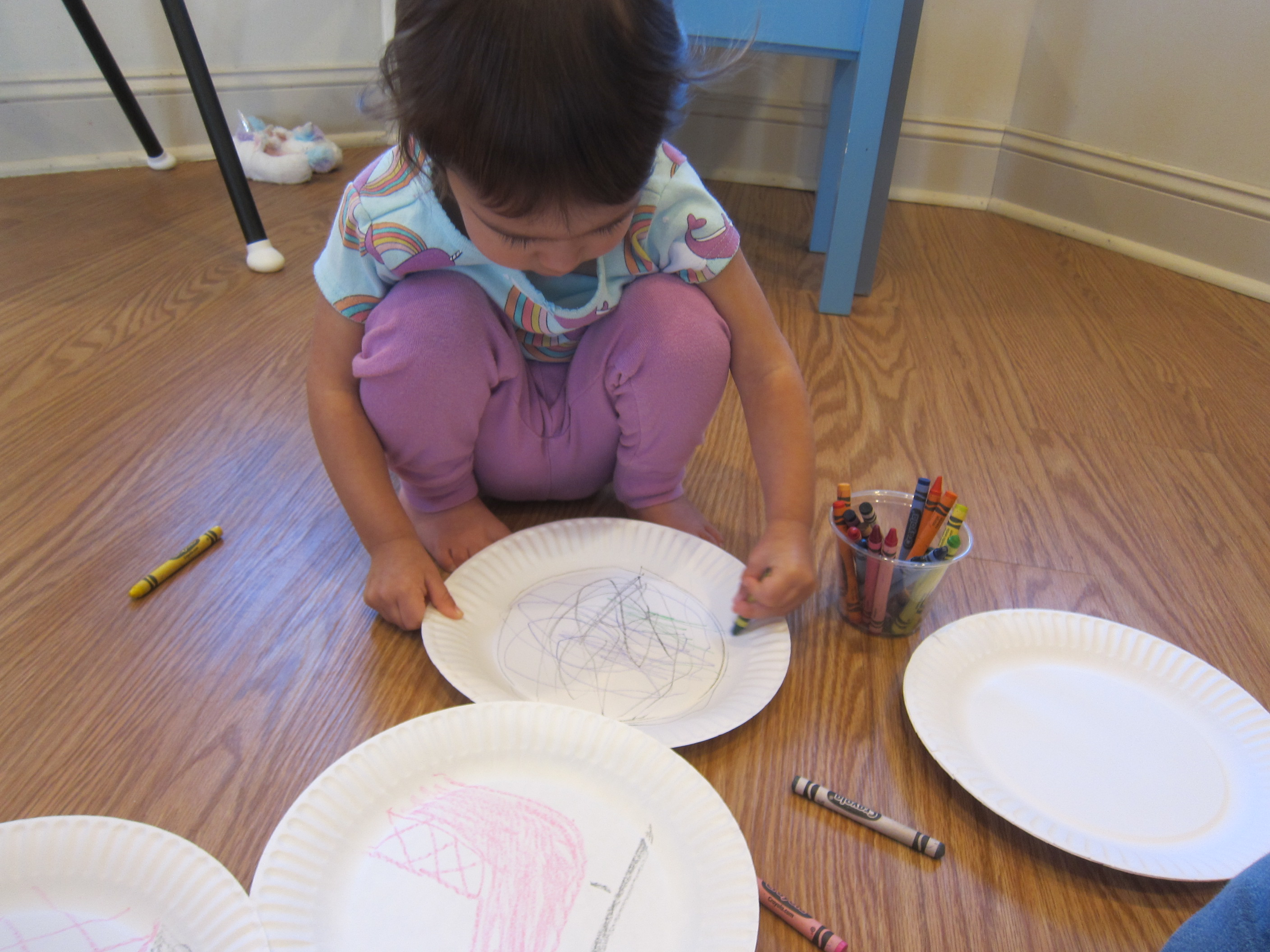Paper Plate Skating (2)