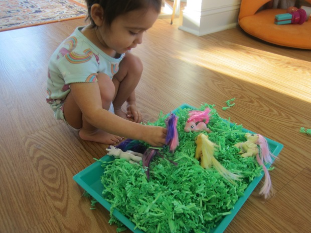 Shredded Paper Sandbox (2)