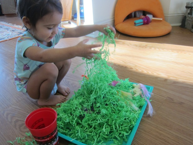 Shredded Paper Sandbox (5)