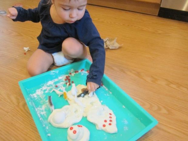 Snowy White Play Dough (12)