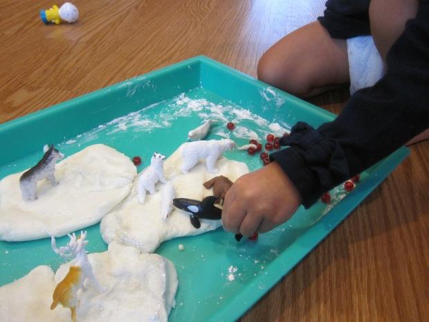 Snowy White Play Dough (8)