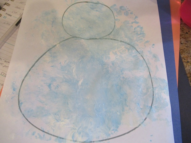Bubble Wrap Snowman (5)