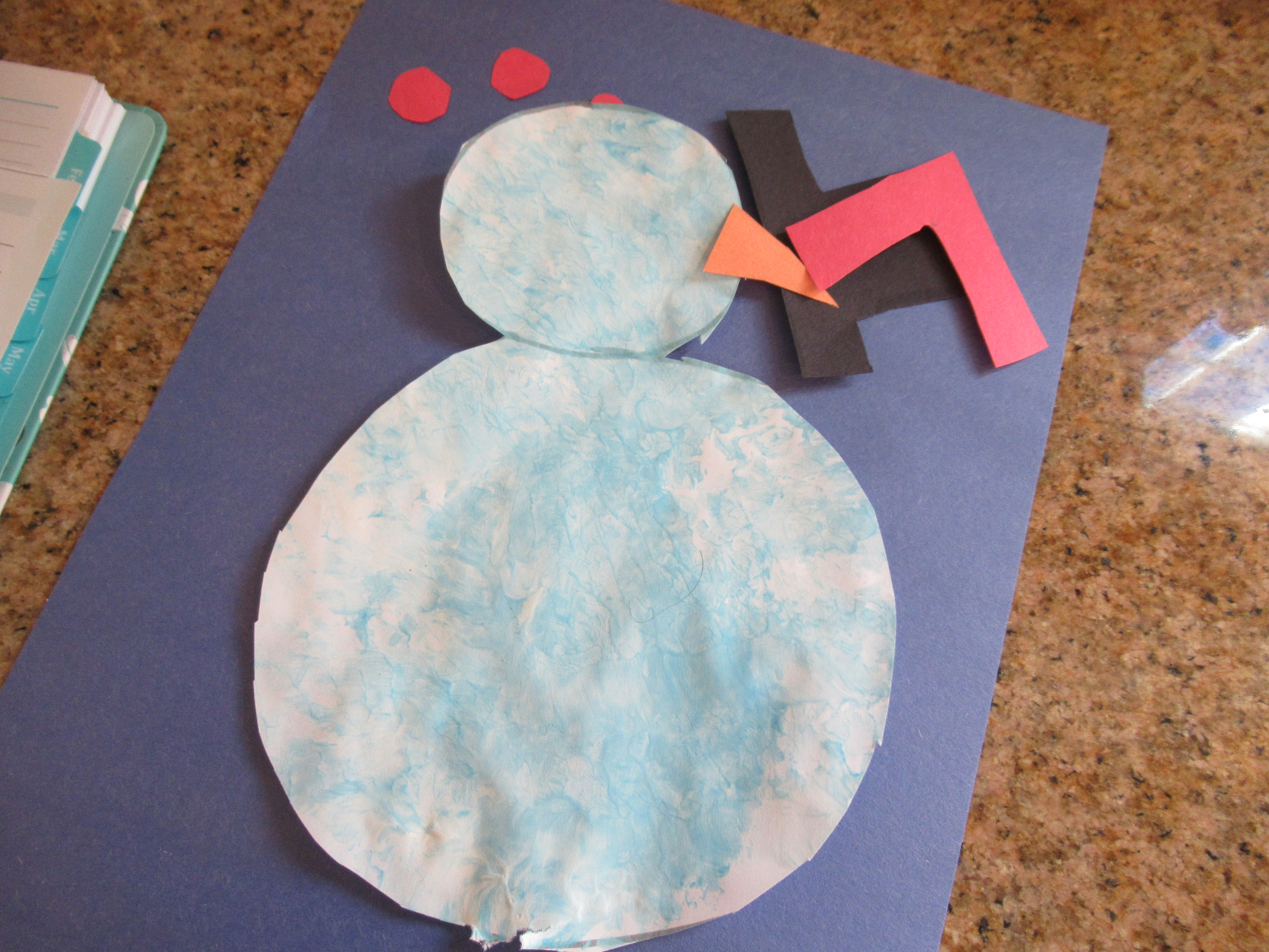 Bubble Wrap Snowman (6)
