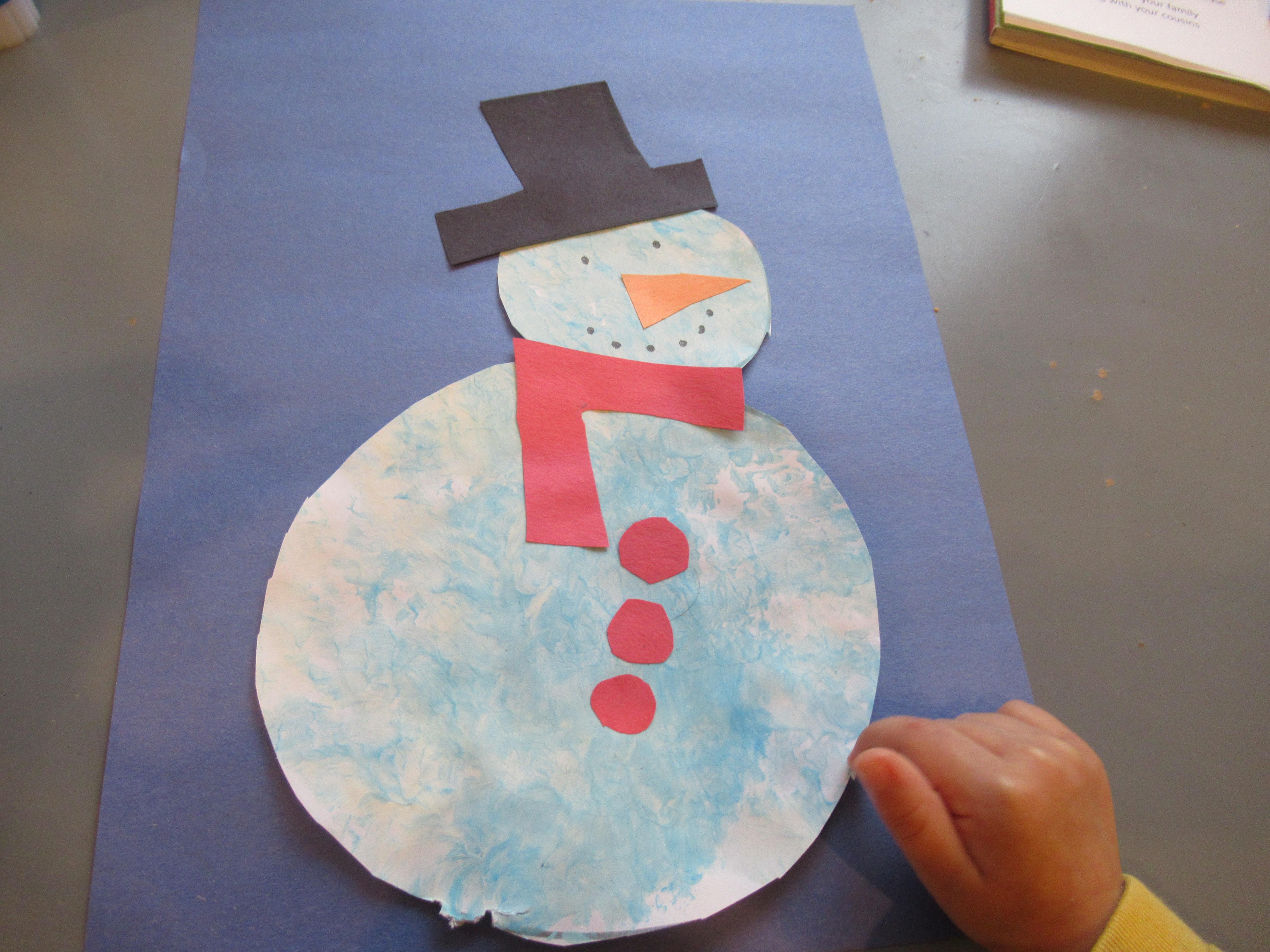 Bubble Wrap Snowman (7)
