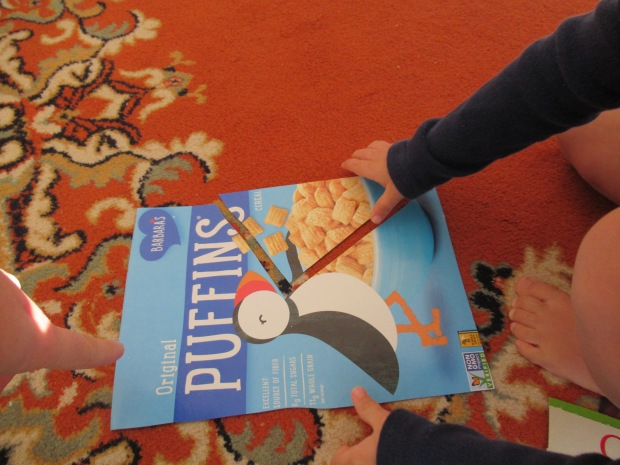 Cereal Box Puzzles (2)