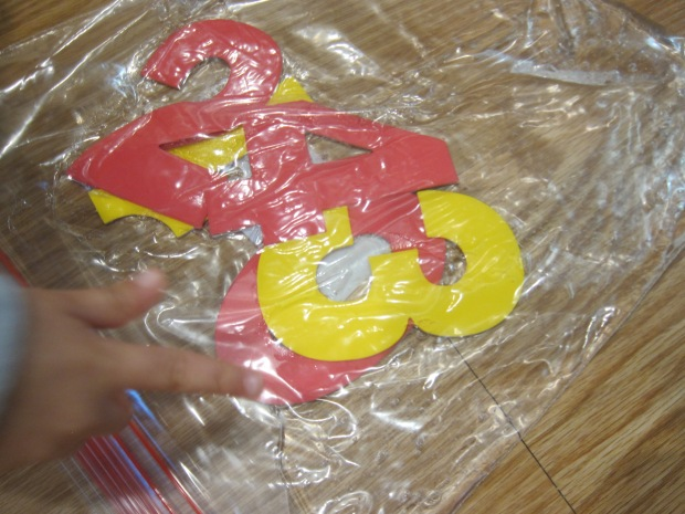 Foam Letter Sensory Bag (2)