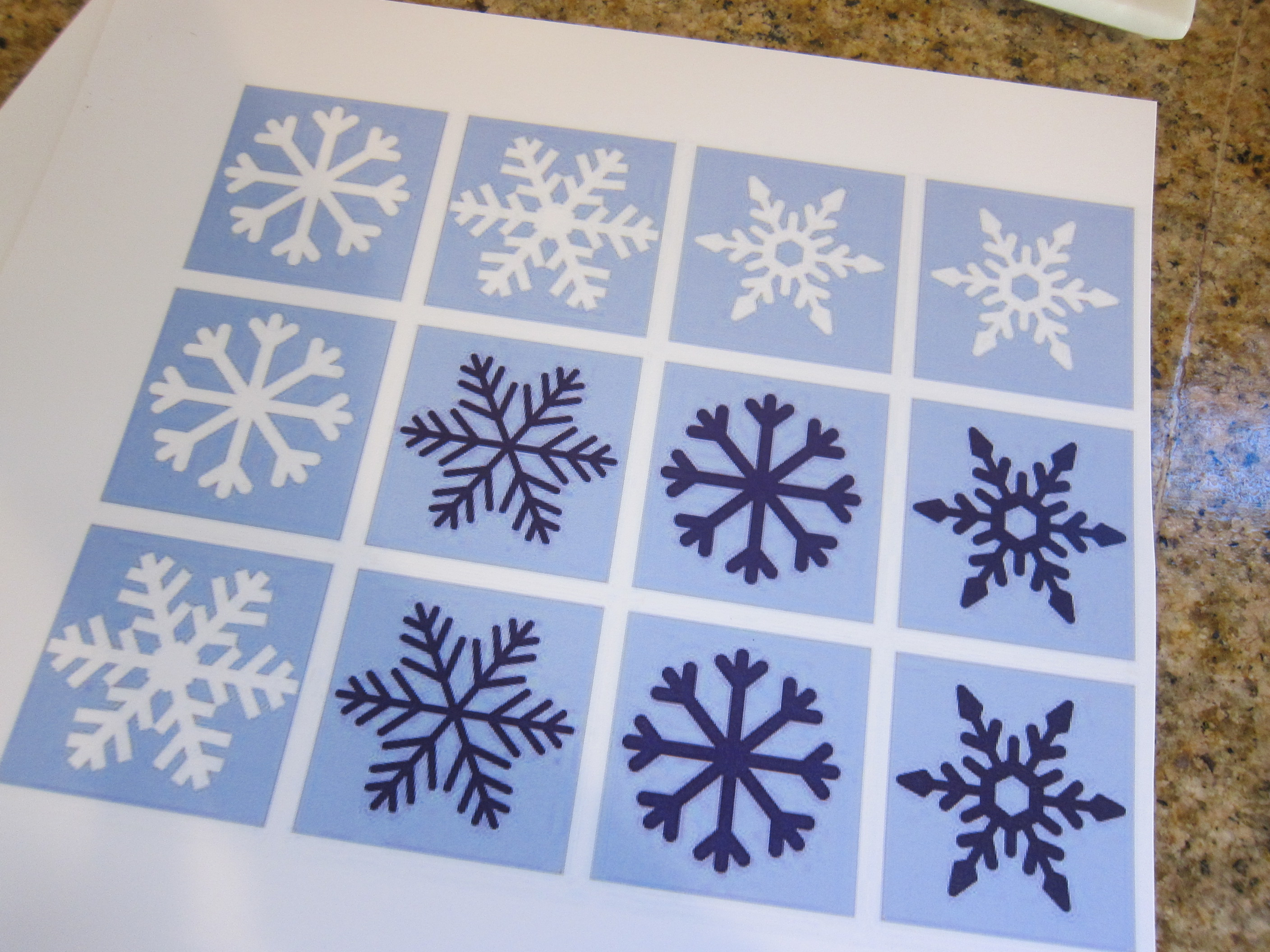 Jump and Match Snowflakes (1)