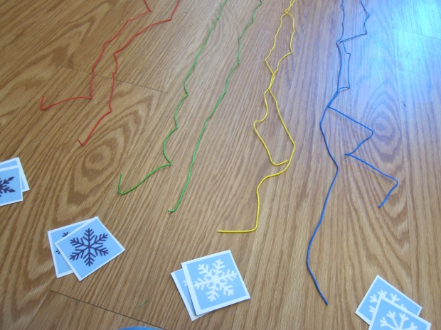 Jump and Match Snowflakes (2)