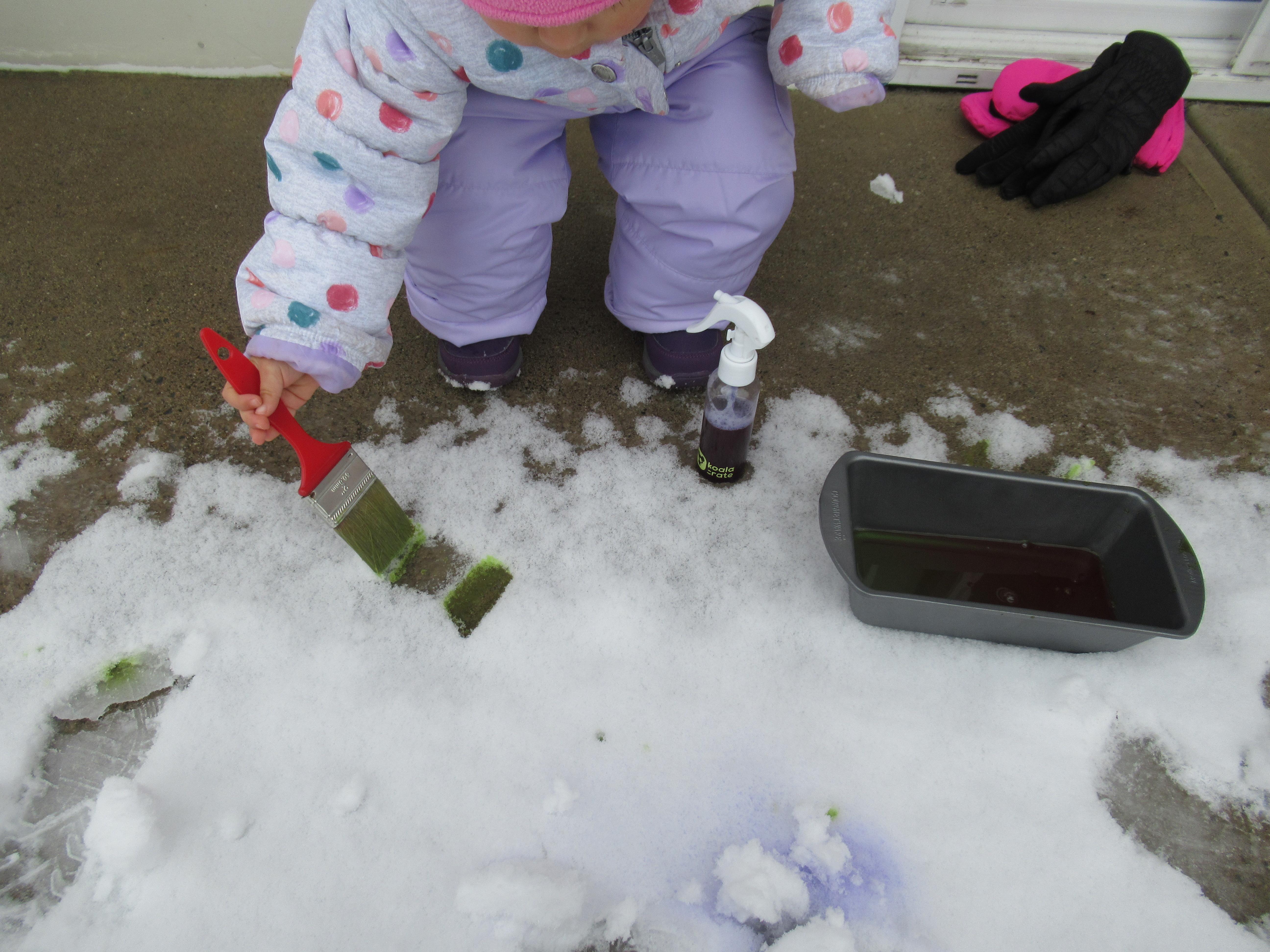 Snow Painting (3)