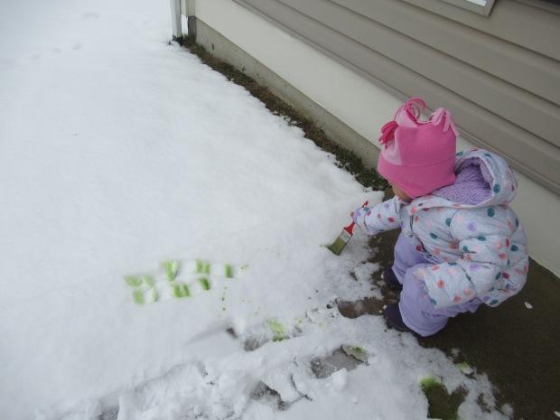 Snow Painting (5)