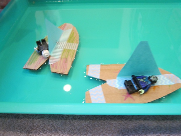 Soap-Powered Boats (3)