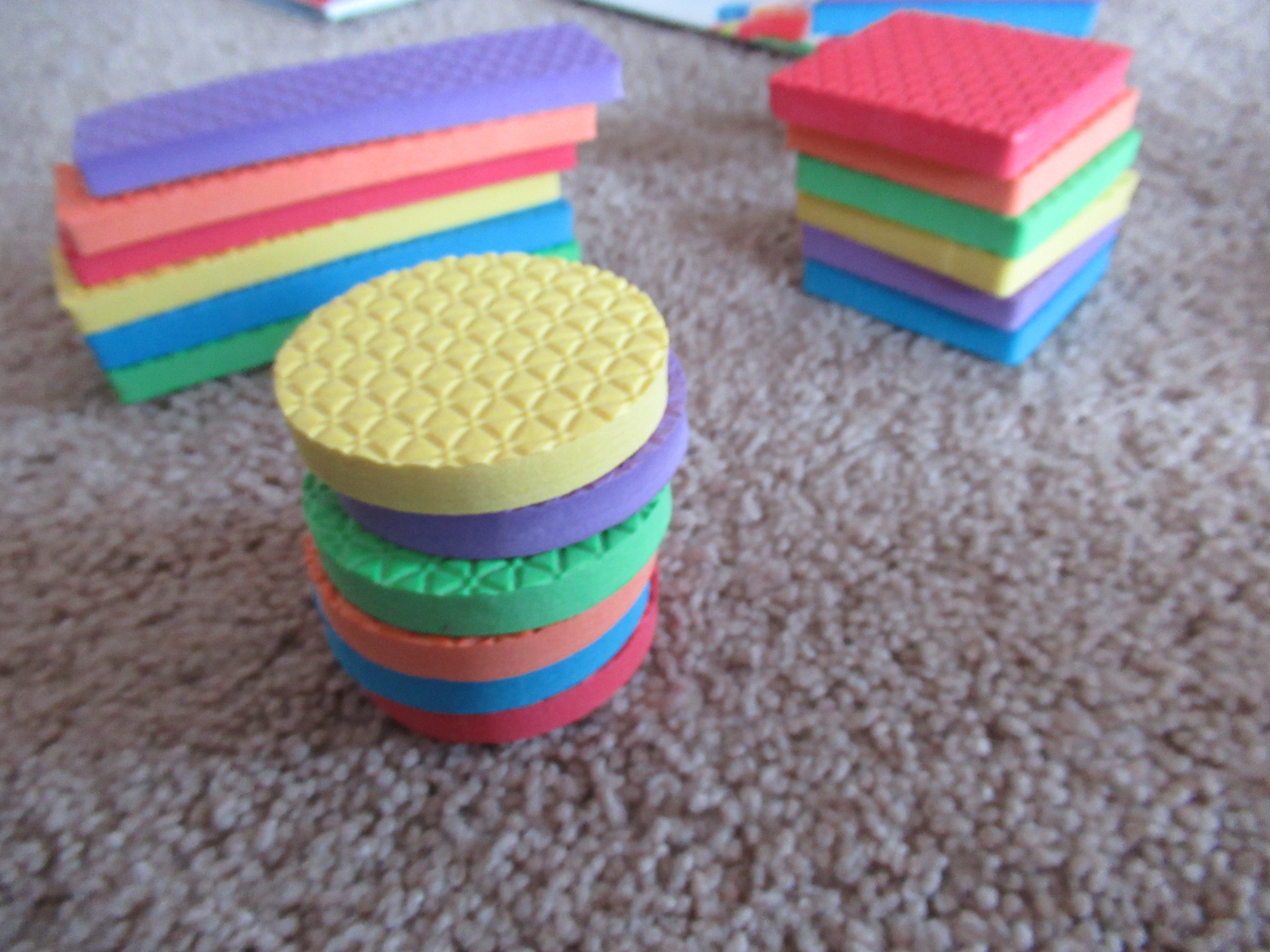 Stacking by Color and Shape (3)