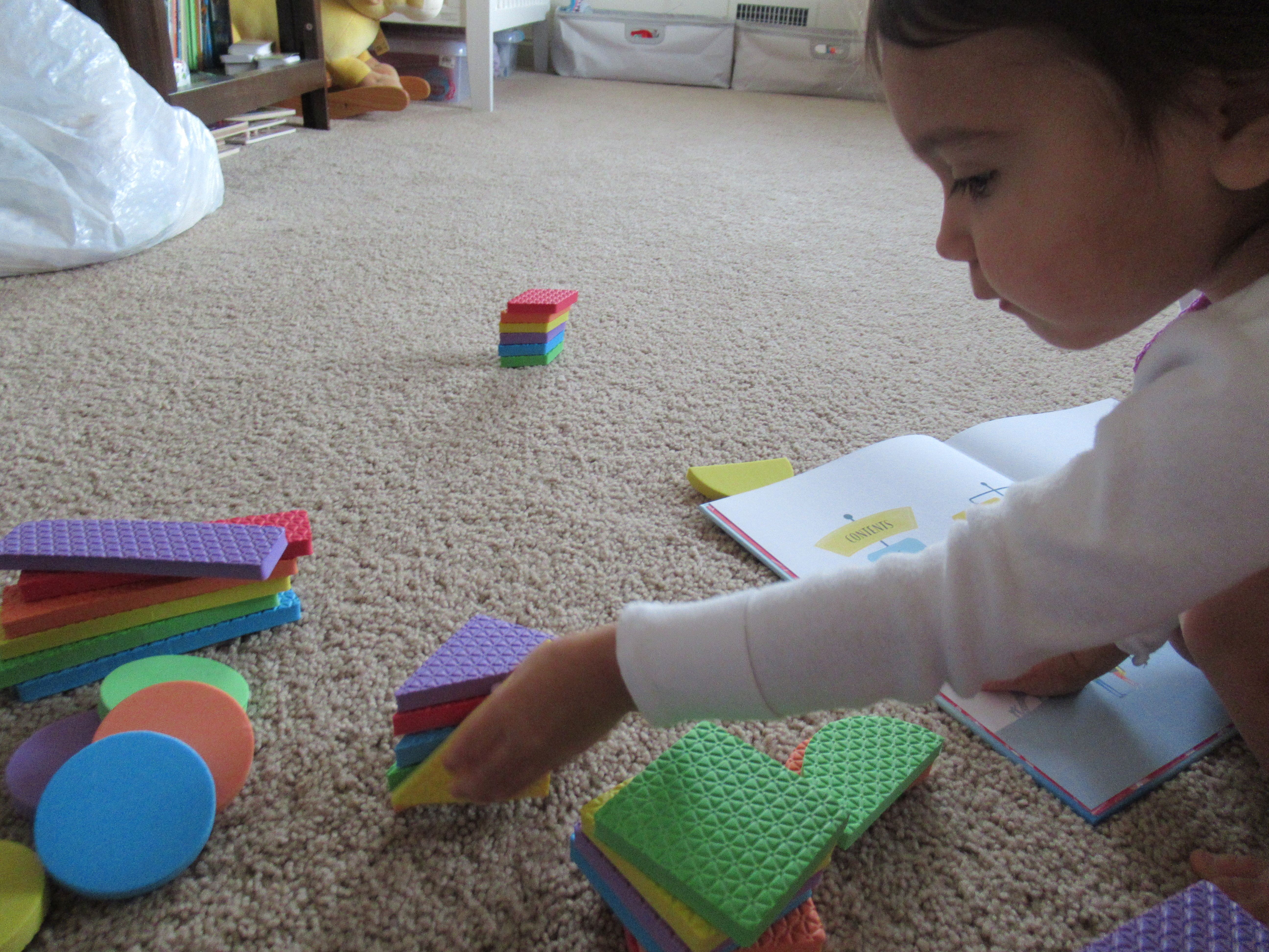 Stacking by Color and Shape (5)