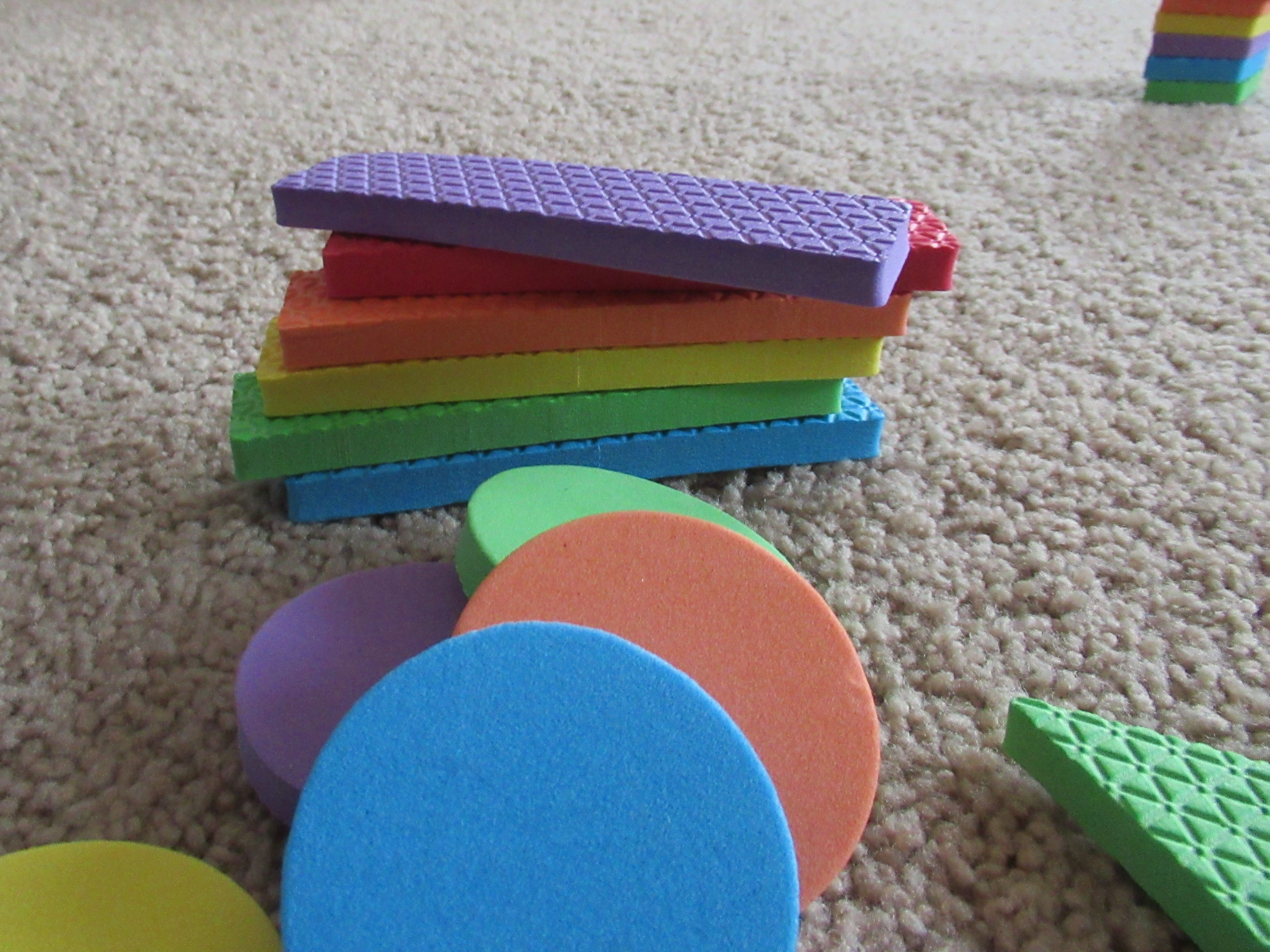 Stacking by Color and Shape (6)