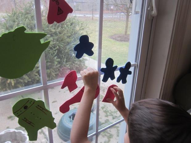 Water Powered Window Stickers (8)